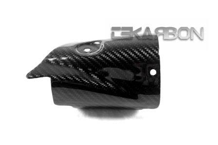 2006 - 2007 Yamaha YZF R6 Carbon Fiber Heat Shield - Twill