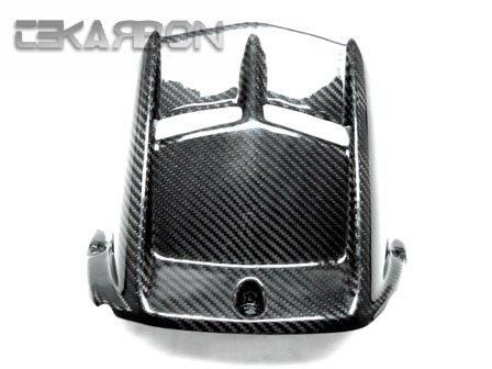 2006 - 2014 Yamaha YZF R6 Carbon Fiber Rear Hugger - Twill