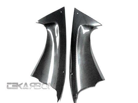2008 - 2014 Yamaha YZF R6 Carbon Fiber Front Side Panels