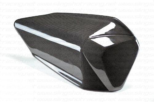 Ducati 899 1199 S R Tricolore Panigale Carbon Fiber Fibre Rear Seat Tail Cover Panel Fairing