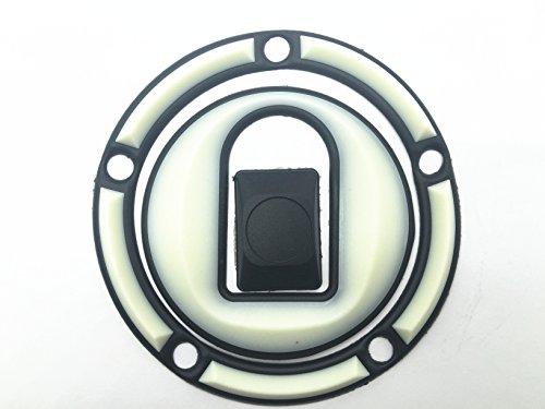 Decal Story 3d Rubber Glow In Dark Fuel Gas Cap Pad Sticker Decal For Kawasaki NINJA ZX6R 636 00-07 NINJA ZX9R 00-03 NINJA ZX10R 04-05 ZRX 1200 01-05 ZZR 600 05-07
