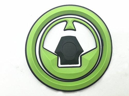 Decal Story 3d Rubber Green Fuel Gas Cap Pad Sticker Decal For Kawasaki Ninja ZX6R ZX10R ZX14 2007-2013
