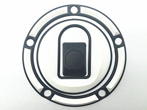 Decal Story 3d Rubber White Fuel Gas Cap Pad Sticker Decal For Kawasaki NINJA ZX6R 636 00-07 NINJA ZX9R 00-03 NINJA ZX10R 04-05 ZRX 1200 01-05 ZZR 600 05-07