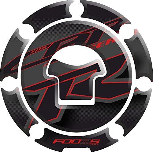 Motorcycle Fuel Tank 3 d 3d Gel Decal Gas Cap Pad Cappad Cap-pad Cover Sticker Tankpad Tank Pad Tank-pad for Honda Cbr 1000rr Cbr1000rr 1000 Cbr600rr 600rr Black