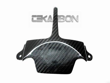 2006 - 2007 Suzuki GSXR 600  750 Carbon Fiber Tail Under Panel - twill