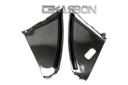 2008 - 2013 Suzuki GSX1300R Hayabusa Carbon Fiber Inner Side Panels