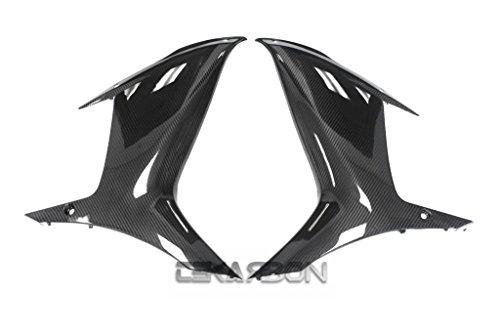2011 - 2015 Suzuki GSXR 600  750 Carbon Fiber Large Side Fairings - Twill