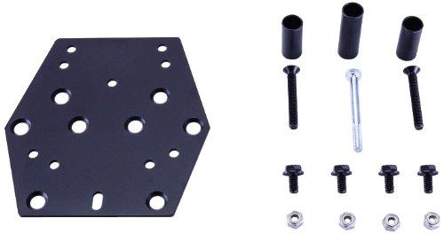 Bestem TBOX-MNT-BURG650-KIT Black Top Box Mounting Kit for Suzuki Burgman 650