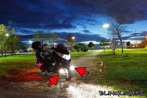 Suzuki Burgman 650A AN650A Executive Xenon Driving Lights Fog Lamps Drivinglights Foglamps Kit