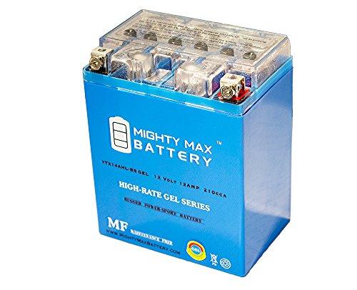 12V 12Ah Gel Battery for Honda 1000 CBR1000F Hurricane 1987-1996 - Mighty Max Battery brand product