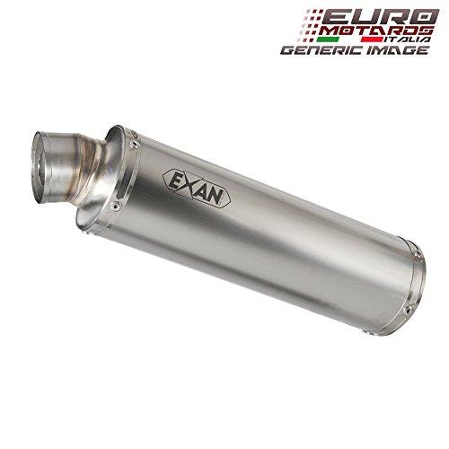 Aprilia Dorsoduro 1200 Exan Exhaust Silencer X-GP Stainless Steel Dual x2