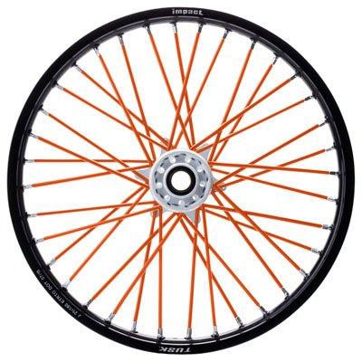 Tusk Spoke Sleeves Orange - Fits Triumph Adventurer 900 1999-2001