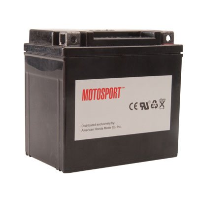 Motosport Maintenance-Free Battery with Acid GTX14BS for Buell XB12R Firebolt 2004-2007
