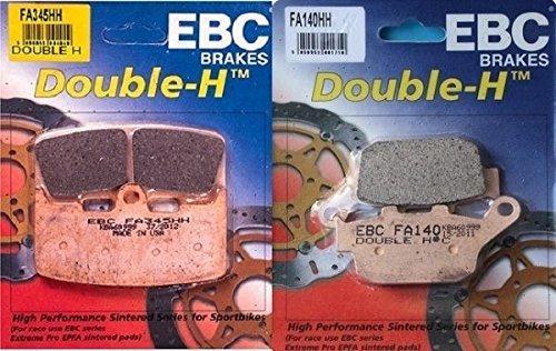 EBC Double H Front  Rear Brake Pads 2002-2007 Buell Firebolt XB9R  FA345HH  FA140HH
