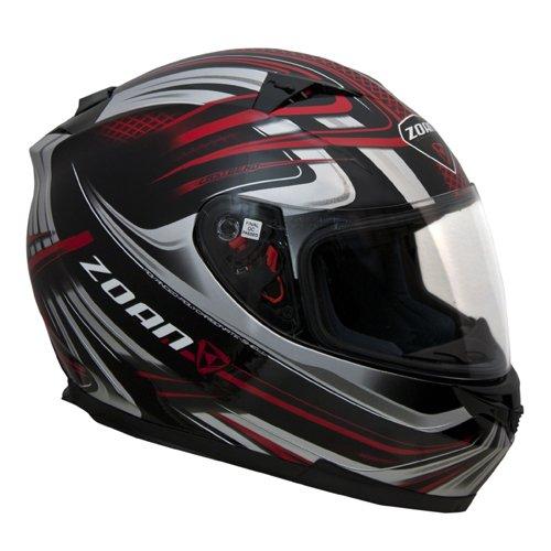 Zoan Blade SV Reborn Red Black Full Face Street Motorcycle Riding Helmet 3X-Large