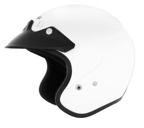 Cyber Helmets U-6 Solid Helmet  Size Lg Primary Color White Distinct Name White Helmet Category Street Helmet Type Open-face Helmets Gender MensUnisex 641253