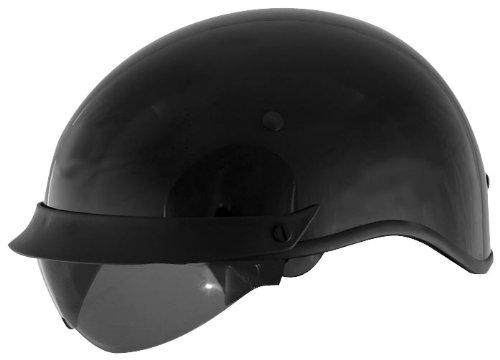 Cyber Helmets U-72 Solid Helmet  Helmet Type Half Helmets Helmet Category Street Distinct Name Black Primary Color Black Size Lg Gender MensUnisex 640833