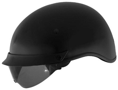 Cyber Helmets U-72 Solid Helmet  Helmet Type Half Helmets Helmet Category Street Distinct Name Matte Black Primary Color Black Size Lg Gender MensUnisex 640843