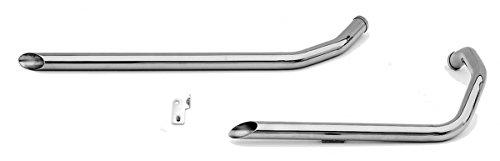 Paughco 1-34 40 Long Shotgun Slash-cut Drag Pipes for Rigid Frames