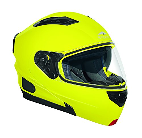 Stealth Vertice Full Face Modular Helmet Hi-Vis Yellow XXX-Large