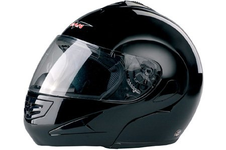 V200 Black Full Face Modular Helmet Medium Size