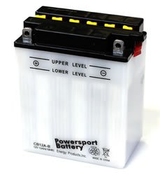Replacement BATTERY YB12A-B POWER SPORT BATTERY Battery