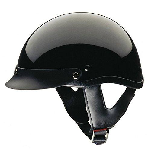 HCI-100 Black Half Helmet XL