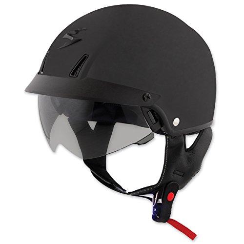 Scorpion EXO-C110 Matte Black Half Helmet 3XL
