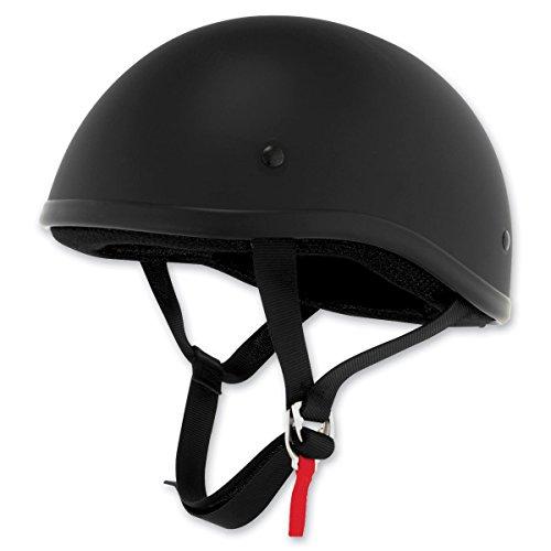 Skid Lid Original Flat Black Half Helmet M