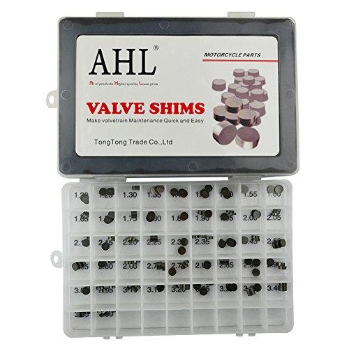 AHL Adjustable Valve Shim Kit 748mm OD 120mm-350mm Thick for Kawasaki KX250F KX250 F 2004-2012 141pcs