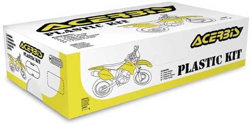 Acerbis Replacement Plastic Kit 08 for Kawasaki KX250F 06-08