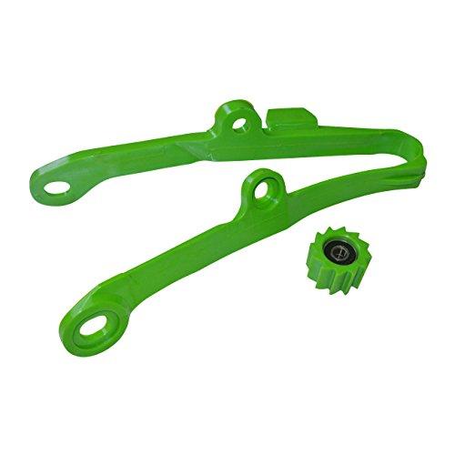 JRL Chain Slider Swingarm Guide Lower Roller For Kawasaki KX250F KX450F 09-16 Green