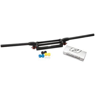 Fasst Flexx 1 18 Handlebar 12 Degree Moto CRCRF Bend Black for Husaberg FE400E 1999-2002