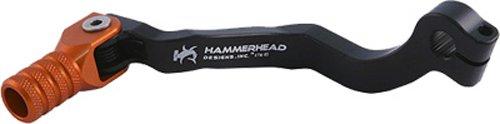 Hammerhead Designs Shifter Lever Kit with Knurled Shifter Tip OEM - BlackOrange KTM3SL0W BLKORG
