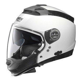 Nolan N44 EVO Metallic White Modular Helmet M