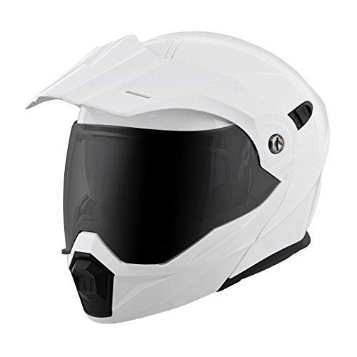 Scorpion EXO EXO-AT950 Gloss White Modular Helmet S