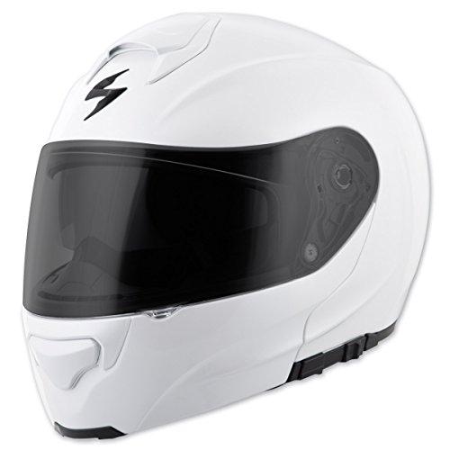 Scorpion EXO EXO-GT3000 Solid Pearl White Modular Helmet XL