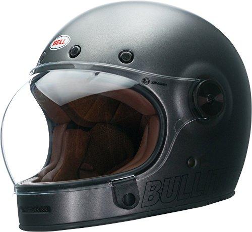 Bell Bullitt Matte Metallic Titanium Motorcycle Helmet Size Medium