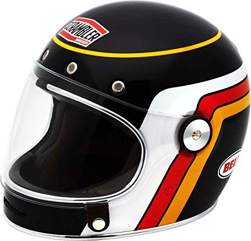 Ducati Scrambler Black Track Bell Bullitt Helmet Medium