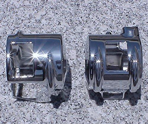 i5 Chrome Switch Housing Covers for Honda VTX 1800 2002-2008