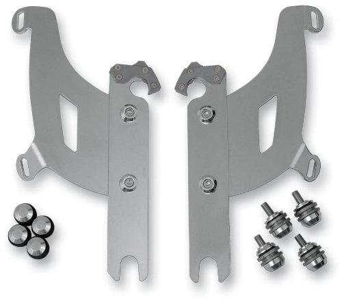 Memphis Shades MEB1977 Black Trigger-Lock Mounting Kit  fits Honda VTX1300C 2004 - 2009