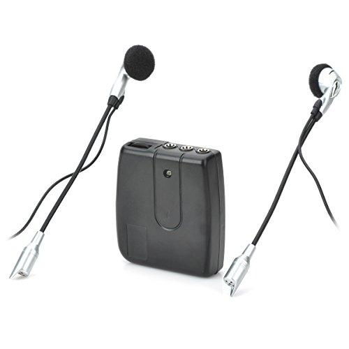 Motorcycle Helmet Headset Interphone 2-Way Intercom Walkie Talkie2 x AAA