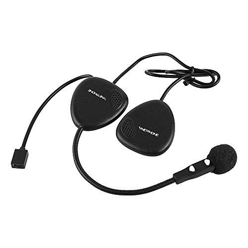 Qiilu Motorcycle V1-2A Bluetooth Headset Helmet Wireless Headphone Handsfree Call Earphone