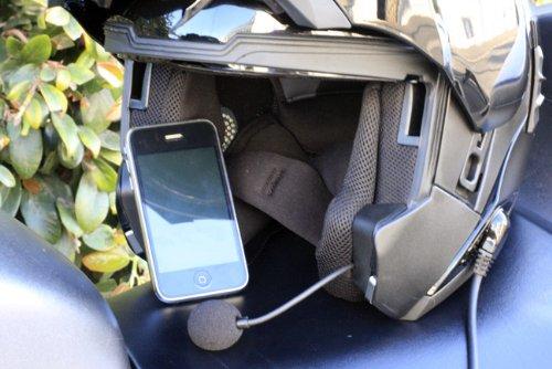 iPhone Motorcycle Helmet Headset