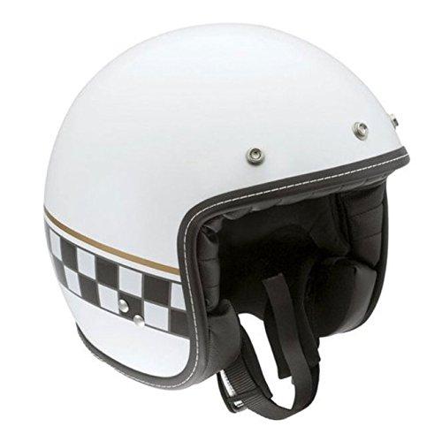 AGV RP60 Cafe Racer White Open Face Helmet M