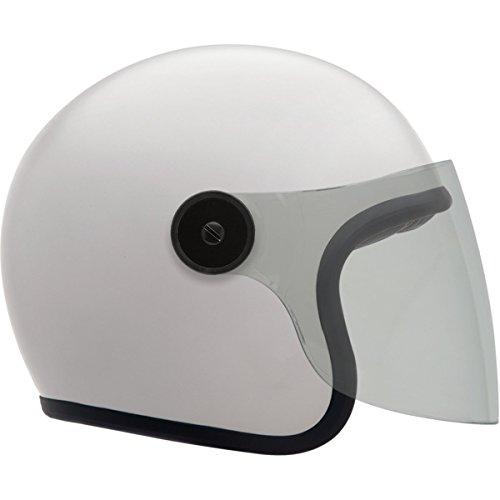 Bell LE Riot Gloss White Open Face Helmet S