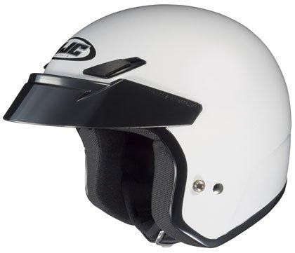 HJC CS-5N White Open Face Helmet - Large