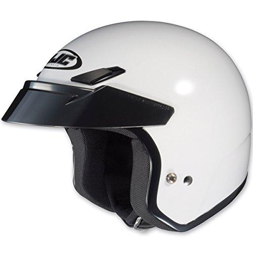 HJC CS-5N White Open Face Helmet M