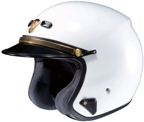 SHOEI RJ Platinum-R LE White Open-Face Helmet - Large 04-104