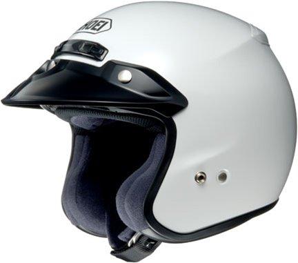 SHOEI RJ-Platinum R White Open-Face Helmet - 2X 02-612